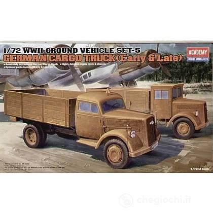 Camion Cargo GERMAN CARGO TRUCK (early or late). Scala 1/72 (AC13404)