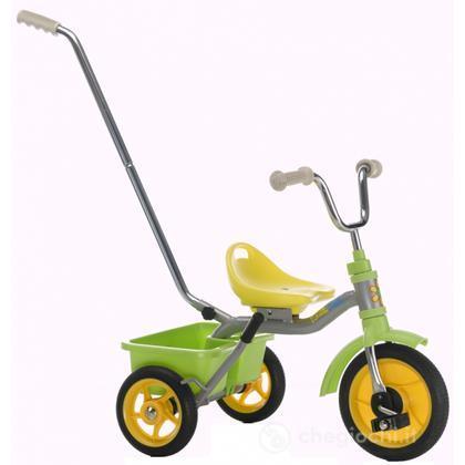Triciclo 10 Touring passenger flower power - Verde