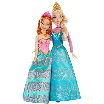 Frozen Sorelle Principesse Elsa e Anna (BDK37)