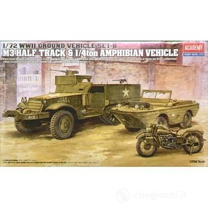 Fuoristrada M3 U.S. HALFTRACK 1/72 (AC13408)
