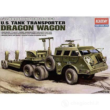 Mezzo Militare U.S. Tank Transporte Dragon Wagon (AC13409)