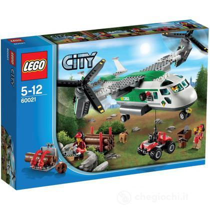 Biplano merci - Lego City (60021)