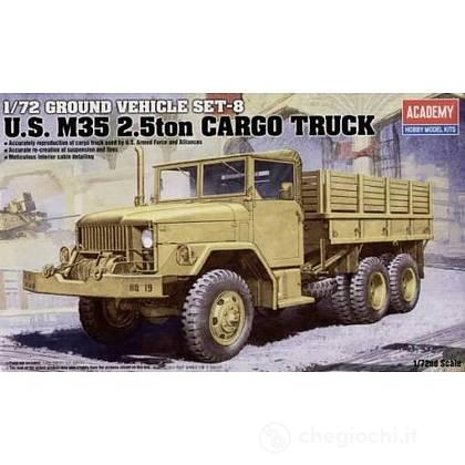 Camion M35 2.5 Ton cargo truck 1/72 (AC13410)