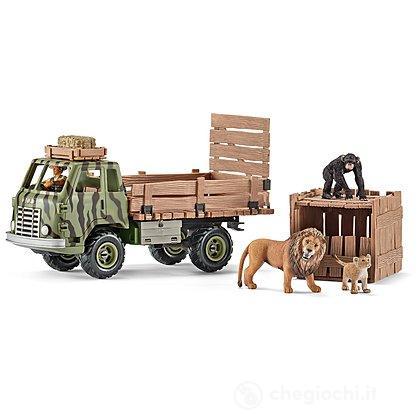 Camioncino Salvataggio Animali Safari (41410)