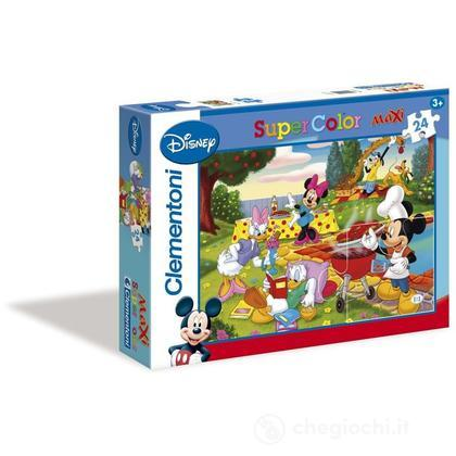 Puzzle 24 pezzi Maxi Mickey Mouse (244100)