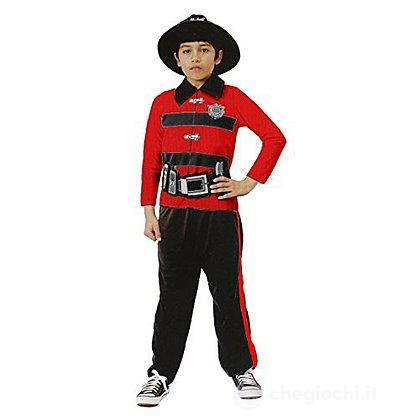 Costume pompiere S 5-7 anni