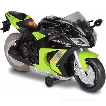 Moto Kawasaki con Luci. Colori assortiti (0308007)