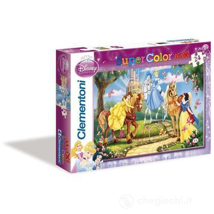 Puzzle 24 pezzi Maxi Principesse Disney (244110)
