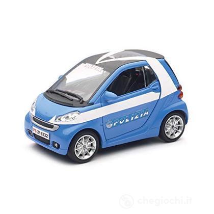 Auto Smart Fortwo Polizia 1:24 71413