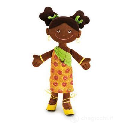 Bambola Pezza Africana Jamila grande