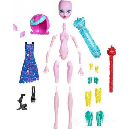 Crea La Tua Monster High Cambia Colore Creepy ( Y7726)