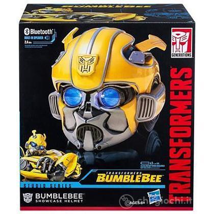 Maschera casco Showcase helmet Bumblebee Transformers (E0704EU4)
