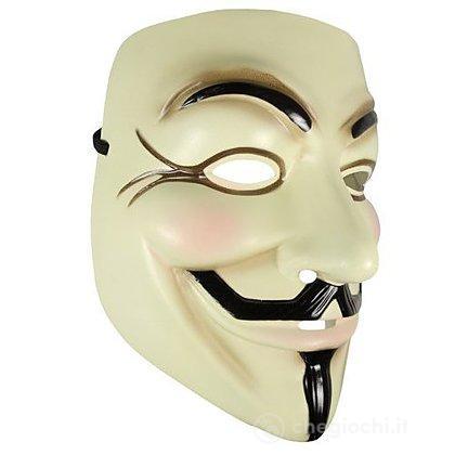V For Vendetta Maschera Adulto Taglia Unica