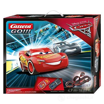 Pista Go Disney Pixar Cars 3 Finish First (20062418)