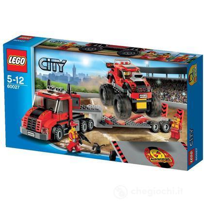 Trasportatore di Monster Truck - Lego City (60027)
