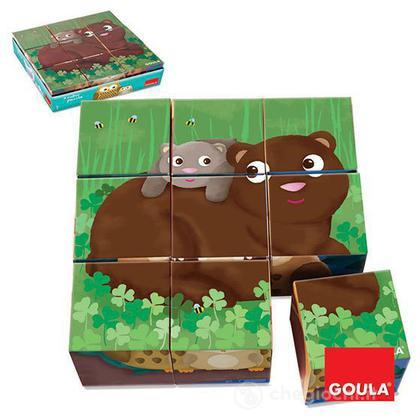 9 Cubi Animali Giungla