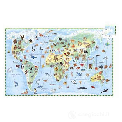 Animali del mondo - 100 pezzi