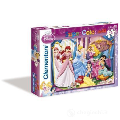 Puzzle 24 pezzi Maxi Principesse Disney (244200)