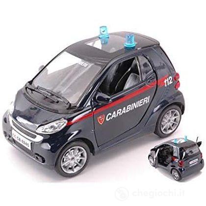 Auto Smart Fortwo carabinieri 1:24 71423