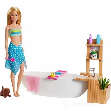 Barbie Relax In Vasca Playset (GJN32)