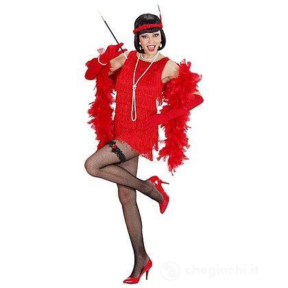 Costume Adulto Charleston rosso L
