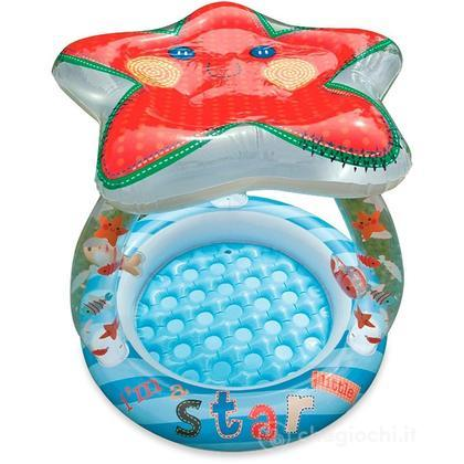 Piscina Baby con Parasole a stella marina cm 102X86 (57428)