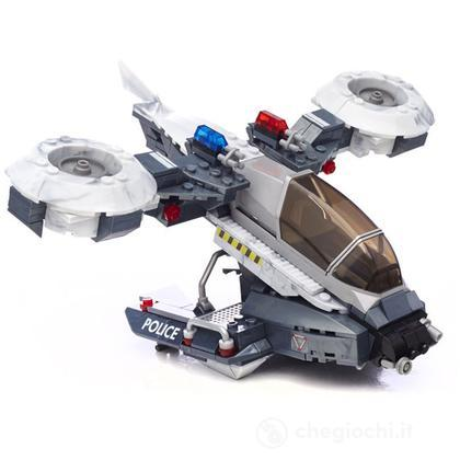 Mega Bloks Halo POLICE AIR SUPPORT HORNET (97429U)