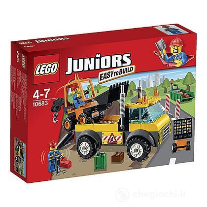 Camion dei lavori stradali - Lego Juniors (10683)