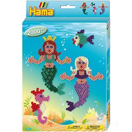 Hama Midi: Hanging Box -  Sirenette 2000 perline