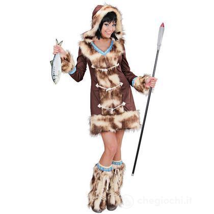 Costume adulto Eschimese Aikaa S (02431)