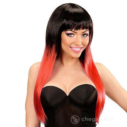 Parrucca Rossa Nera