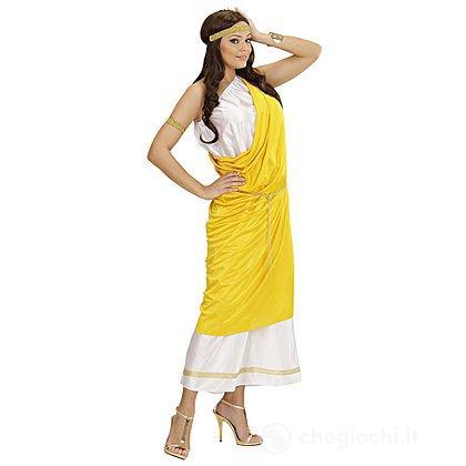 Costume Adulto Donna Romana toga party S