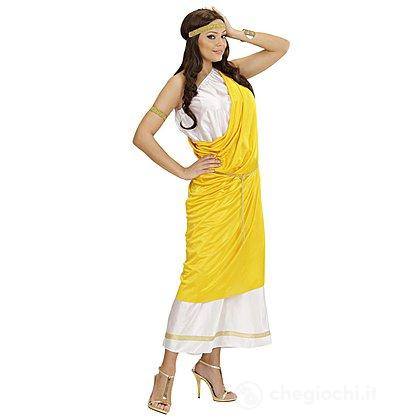 Costume Adulto Donna Romana toga party M