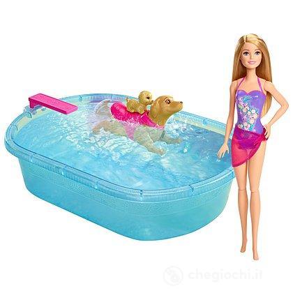 Barbie Nuota coi Cuccioli (DMC32)