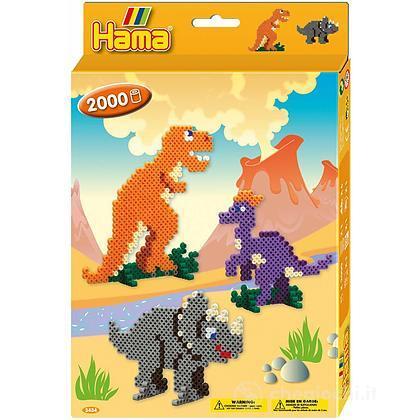 Hama Midi: Hanging Box - Dinosauri