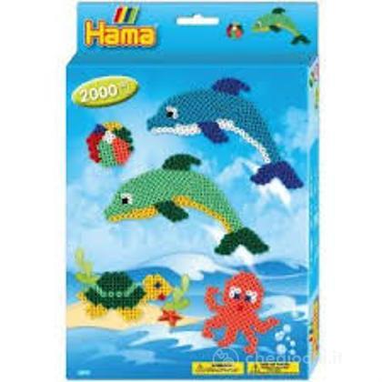 Hama Midi: Hanging Box - Delfini