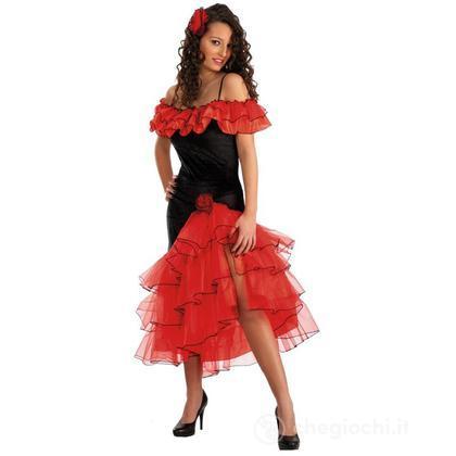 Costume adulto Carmen Taglia unica (83436)