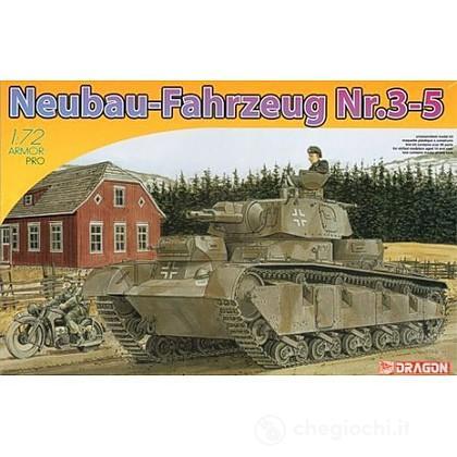 Carro armato tedesco Neubaufahrzeug nr. 3-5 (7438)