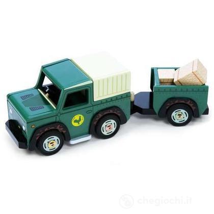 Jeep 4 X 4 + rimorchio (TV438)
