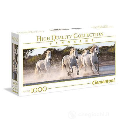 Puzzle 1000 Panorama Running Horses (39441)