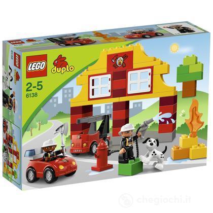 La mia prima caserma dei pompieri - Lego Duplo Mattoncini (6138)