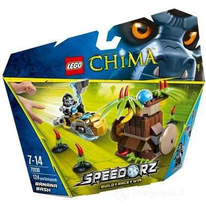 Schiaccia-Banana - Lego Legends of Chima (70136)