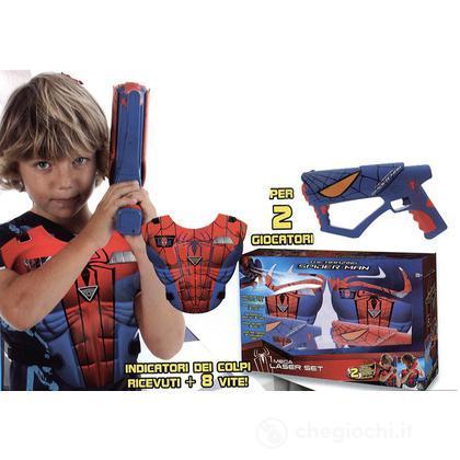 Mega laser set con pettorina Spider-Man 4 (GPZ50902)