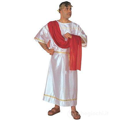 Costume Adulto Cesare Romano toga party L