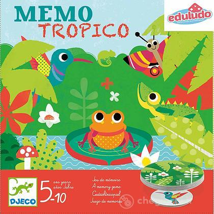 Memo Tropico gioco memoria DJ08444