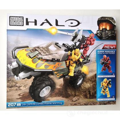 Mega Bloks Halo UNSC Flame Warthog (97449U)