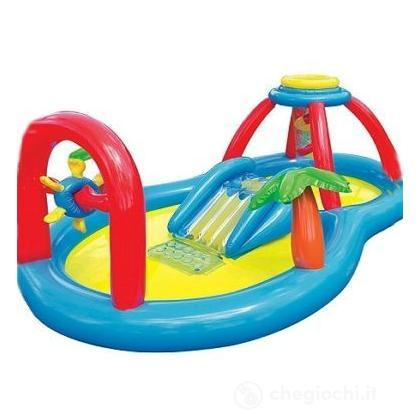 Piscina Playground Mulino A Vento cm 295X193X107 (57449)