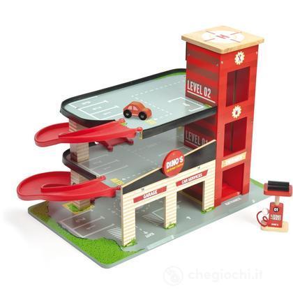 Garage rosso di Dino (con adesivi) (TV450)