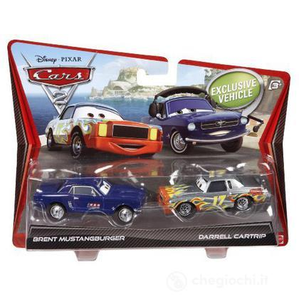 Cars 2 pack - Brent Mustangburger e Darrel Cartrip (V2834)
