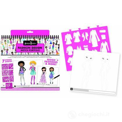 Fashion Design Coloring Portfolio (FA11451)
